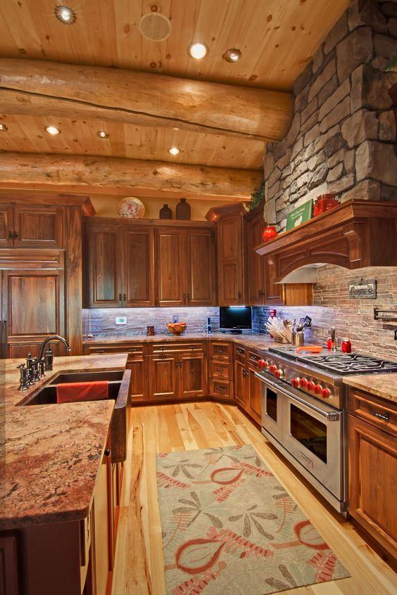 The Best 50 Log Cabin Interior Design Ideas   Relentless Home