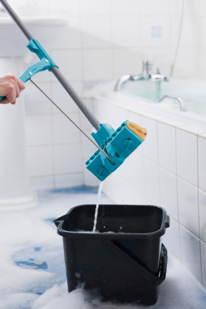 Clean Ceramic Tile Shower