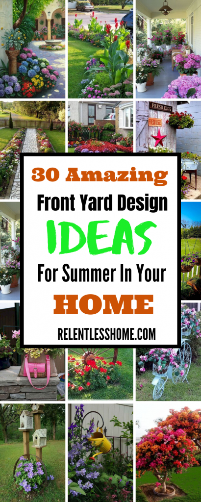 Front Yard Design Ideas