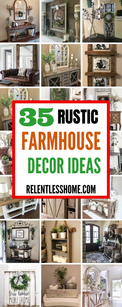 rustic farmhouse decor ideas