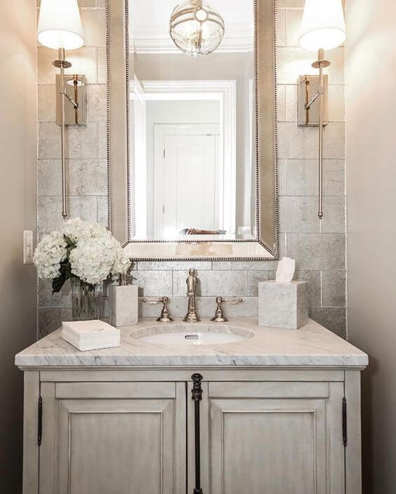 Astonishing Powder Room Decorating Ideas
