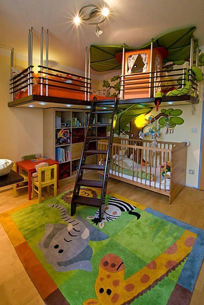 Indoor Kid Playroom