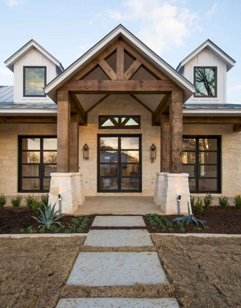 Modern Farmhouse Exteriors Ideas