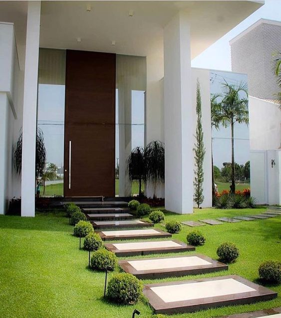 Modern Front Yard Landscaping Ideas