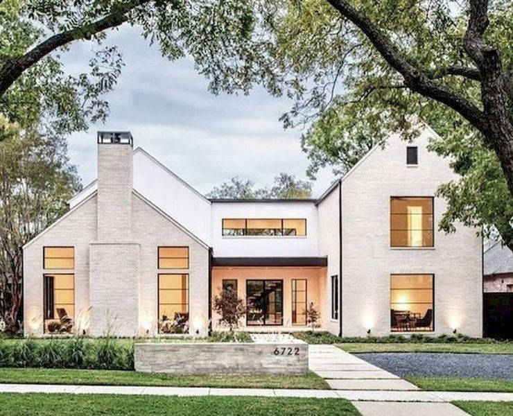 Modern farmhouse exteriors