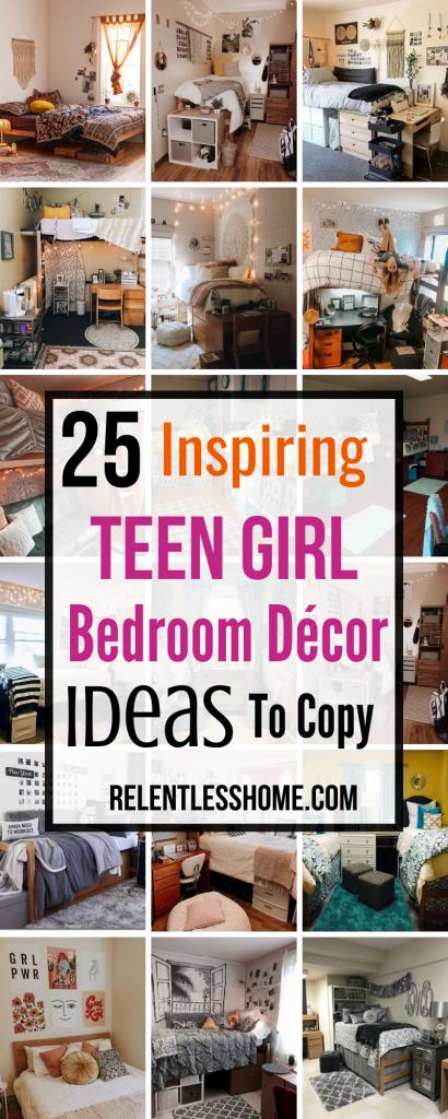 Teen Girl Bedroom Décor Ideas