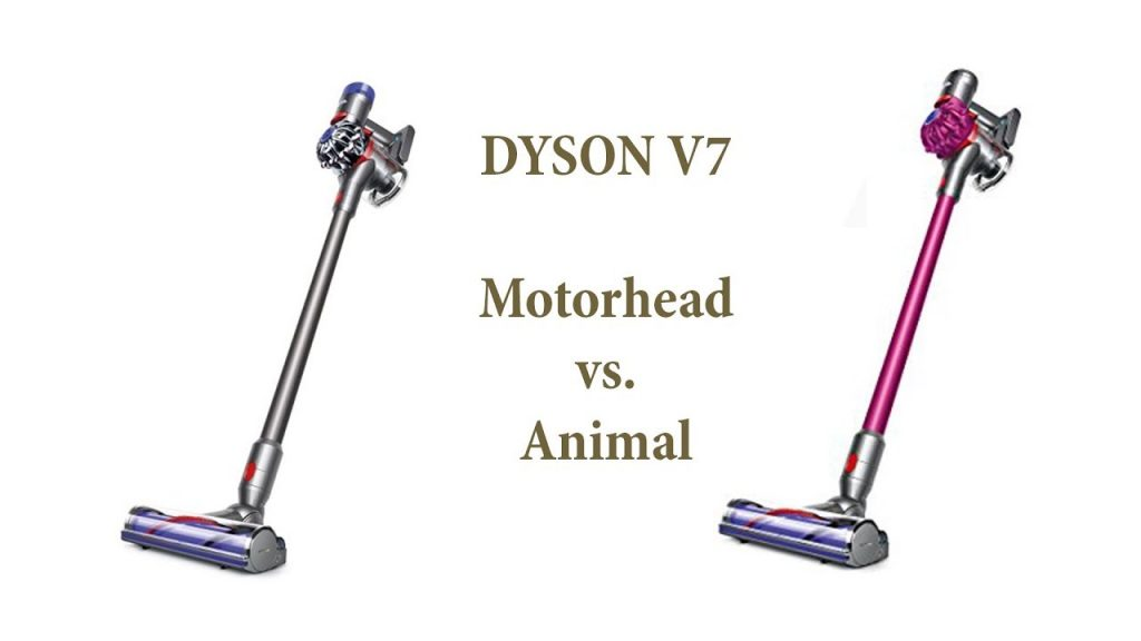 Dyson V7 Animal vs V7 Motorhead