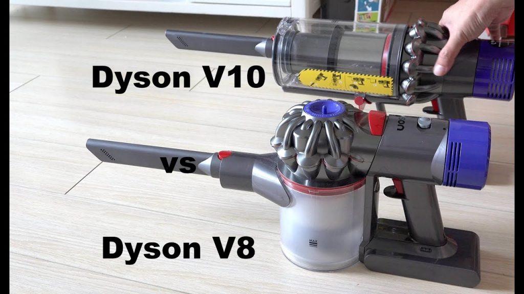 Dyson V8 vs Dyson V10