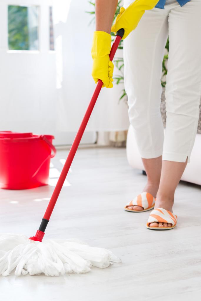 how often should I mop