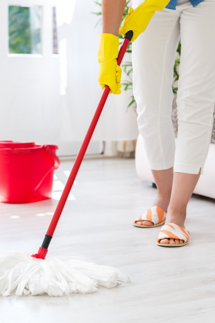 how often should I mop