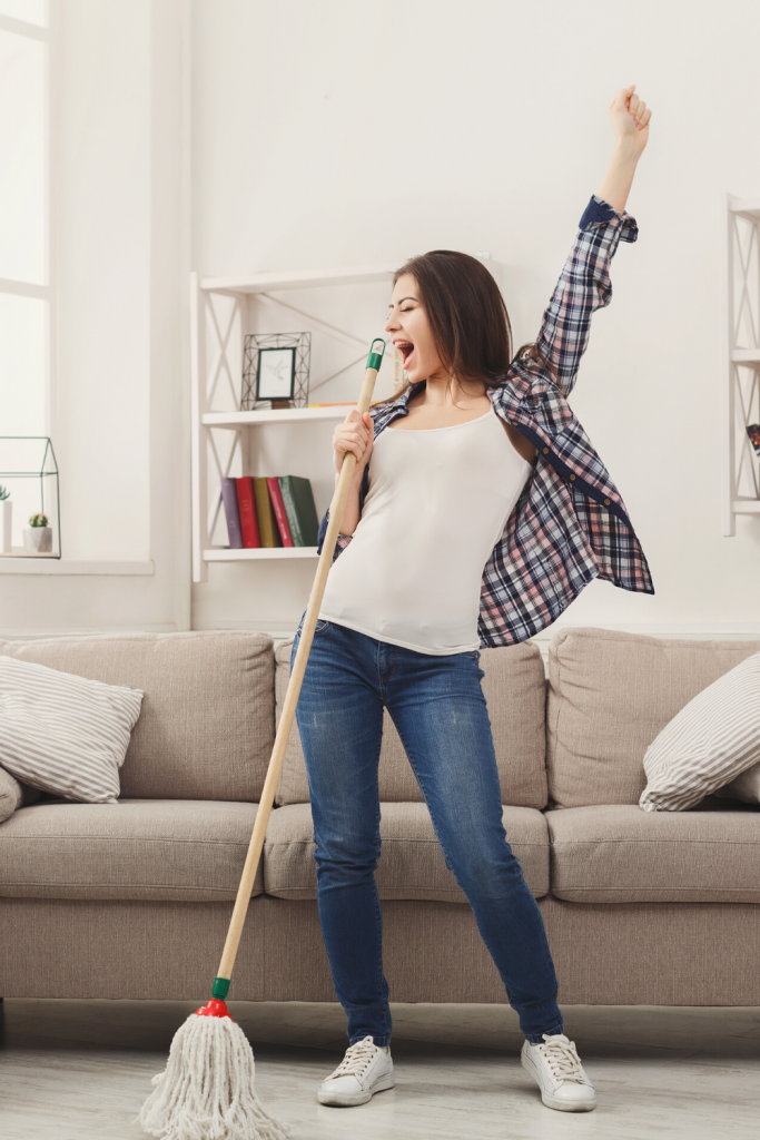 how often should you mop