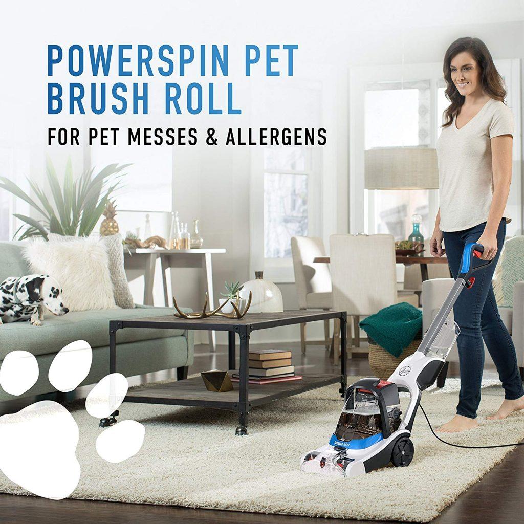 hover power dash carpet cleaner