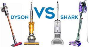 Shark vs. Dyson vacuum