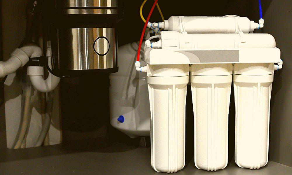 install an under-sink water filter